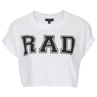 Rad Crop Tee - Jersey Tops - Clothing - Topshop USA