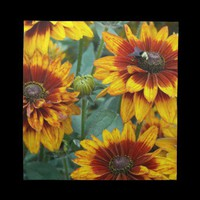 Mums Floral Napkins from Zazzle.com