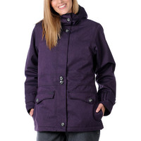 Empyre Girls 2012 Nomad Solid Purple 10K Snowboard Jacket