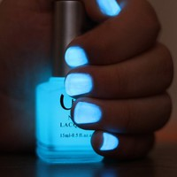 Glow In The Dark Neon Nail Lacquer Nail Polish Hot Blue