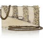 Anndra Neen|Melted Envelope silver-tone shoulder bag|NET-A-PORTER.COM