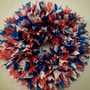 12&quot; Red White &amp; Blue Patriotic Indoor/Outdoor Wreath