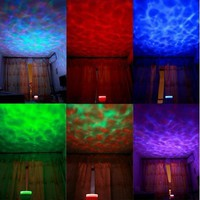 Ocean Relax Projector Pot Music Input,ocean Light,ocean Lamp,music Projection