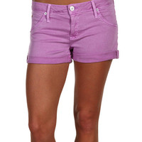 Hudson Hampton Cuffed Short Short