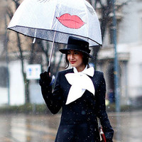 Kissy Face Umbrella