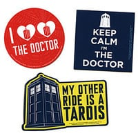 Doctor Who Car Magnets