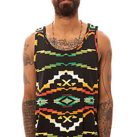 10 Deep The Tribes Tank Top in Black Native : Karmaloop.com - Global Concrete Culture