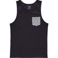 BLUE CROWN Illusion Mens Pocket Tank