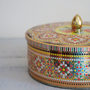 Vintage Daher Tin - Collectible Tin - Made in England - Decorated Tin Box