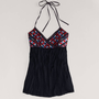 AE Embroidered Halter Top | American Eagle Outfitters