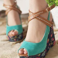 Turquoise Sandals from magisteriall