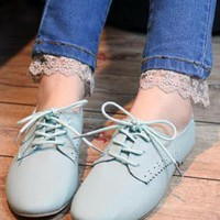 School Blue Shoes from magisteriall