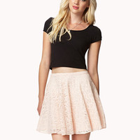 Lace Skater Skirt