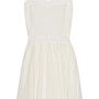 Band of Outsiders|Silk and cotton-blend voile dress|NET-A-PORTER.COM