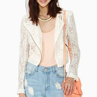 Sweet Lace Moto Jacket