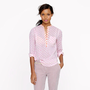 Thistle-print popover - casual shirts - Women&#x27;s shirts &amp; tops - J.Crew