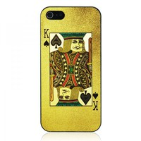 Poker Spade K Case For iPhone 5