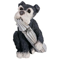 Pepper the Dog with Paper Garden Accent - #31835 | LampsPlus.com