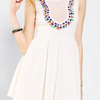 Urban Outfitters - Reverse Bejeweled Skater Dress