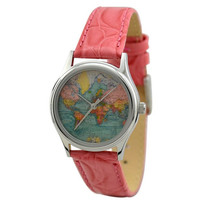 Ladies Vintage Map Watch (World 2)