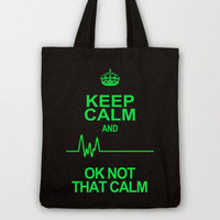Keep Calm Tote Bag by Alice Gosling
