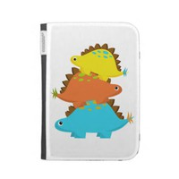 Stack of Stegosaurus Kindle Case from Zazzle.com