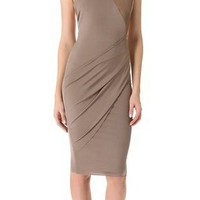 Kimberly Ovitz Sinti Dress with Leather Trim | SHOPBOP
