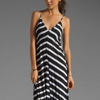 Eight Sixty Stripe Maxi in Scour/Black from REVOLVEclothing.com