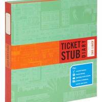 Ticket Stub Diary | Mod Retro Vintage Desk Accessories | ModCloth.com