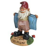 Perverted Garden Gnome - Whimsical & Unique Gift Ideas for the Coolest Gift Givers