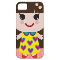 Kawaii Doll iPhone 5 Case from Zazzle.com