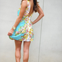 Picking Wild Flowers Dress: Mint/Multi | Hope's