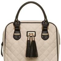 Bone tassel quilt bag - Purses & Wallets  - Accessories