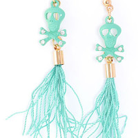 Witch Doctor Tassel Earrings