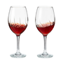AERATING WINE GLASSES- SET OF 2
