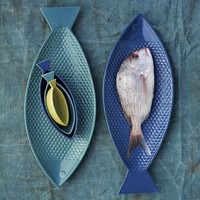 Fish-Shaped Serveware | west elm
