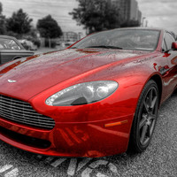 Aston Martin V8 Vantage Coupe 001 Photograph by Lance Vaughn - Aston Martin V8 Vantage Coupe 001 Fine Art Prints and Posters for Sale