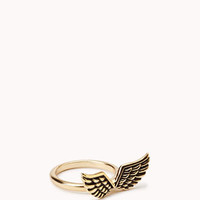 Etched Wings Ring