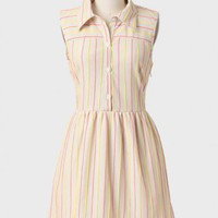 Sweeter Days Striped Dress By Tulle at ShopRuche.com