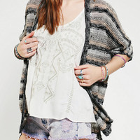 Ecote Tape Yarn Open Cardigan