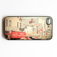 Iphone Case Vintage Chinatown San Francisco by SSCphotographycases