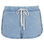 Light Acid Wash Runner Shorts - Shorts - Clothing - Topshop USA