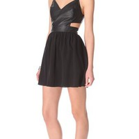 Rory Beca Cherry Cutout Dress | SHOPBOP