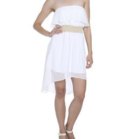 Ruffle Top High Low Dress | Shop Dresses at Wet Seal