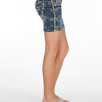 Miss Me Embroidered Stretch Short - Women's Shorts | Buckle