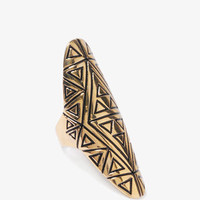 Tribal Knuckle Ring | FOREVER 21 - 1000043340