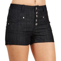 Rinse High Waisted Denim Shorts