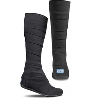 Black Vegan Women&#x27;s Wrap Boots