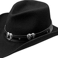 Amazon.com: Master Hatters of Texas Women&#x27;s Julia Cowboy Hat: Clothing