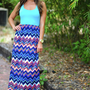 Fall Right Back To You Maxi Dress: Multi | Hope's
